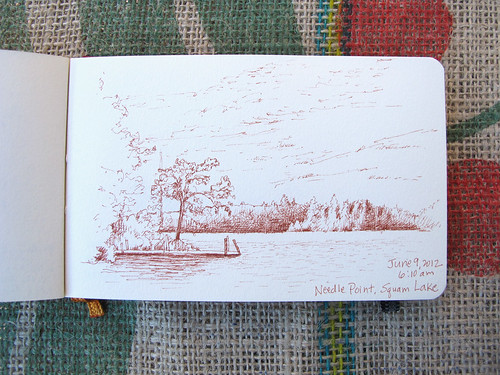Squam Lake Sketch_5