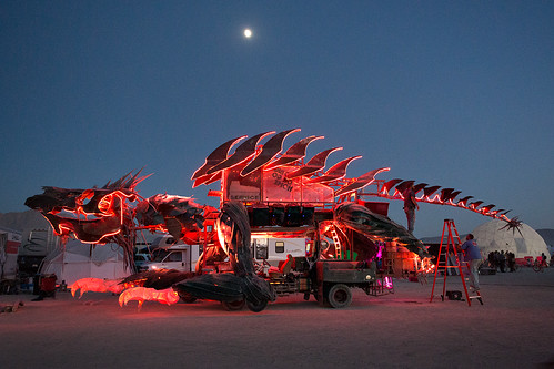 Gon KiRin at Burning Man 2012