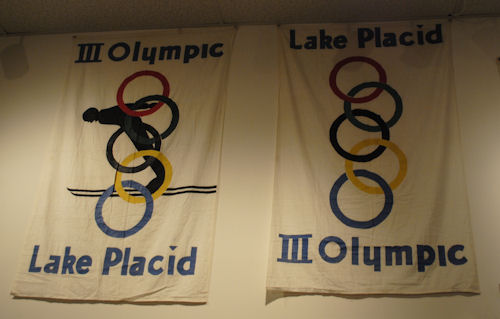 1932 Lake Placid Olympics Banner