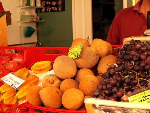 Fruit in Santa Cruz