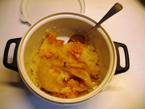 Ricetta mostarda mantovana di mele con essenza di senape for Mostarda di mele mantovana