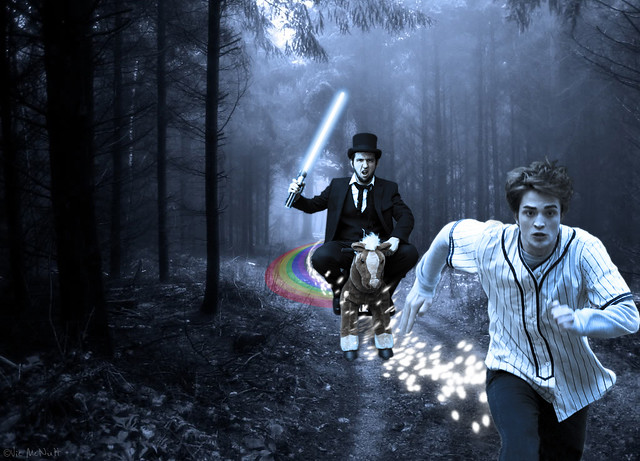 Abe Lincoln Sparkly Vampire Hunter! | Flickr - Photo Sharing!
