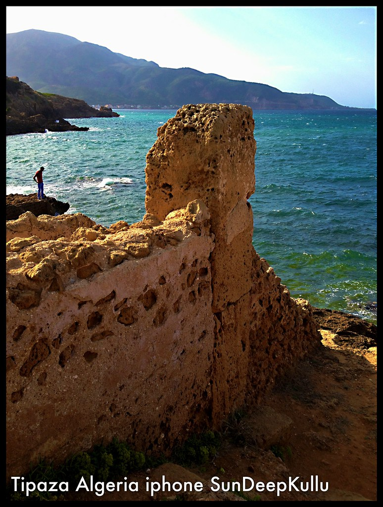 Tipaza Algiers Algeria UNESCO WORKD HERITAGE SITE shot with  iPhone by http://sundeepkullu.com