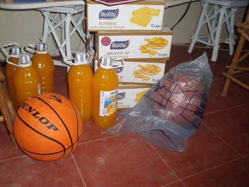 Biscuits, Juice & Basketballs from Danielle