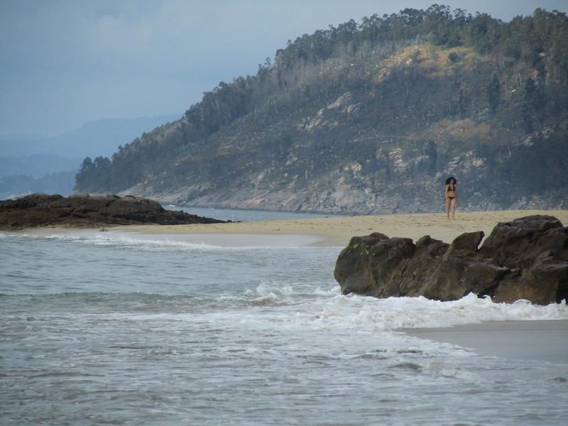 Morena y playa