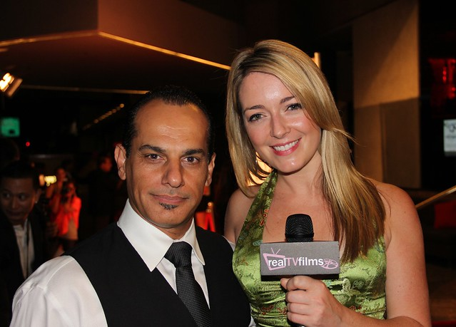 Said Faraj, Tara Hunnewell, The American Failure Movie, Emmys After Party