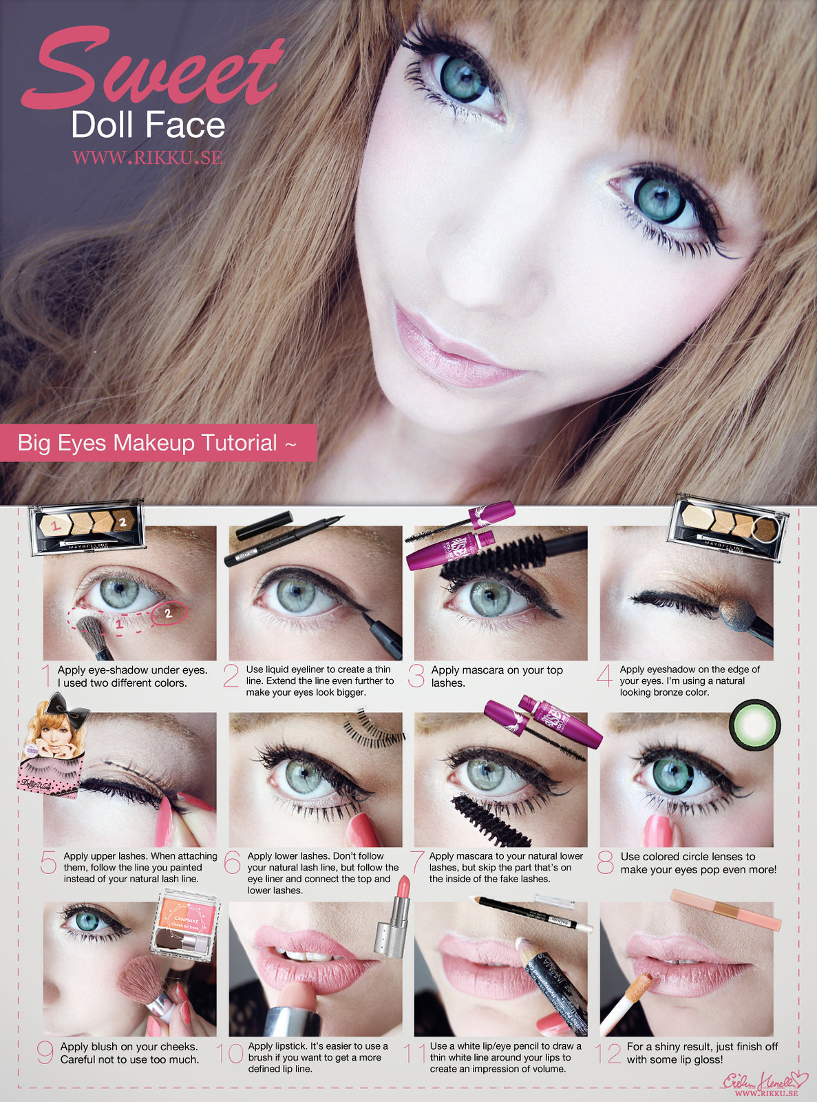 big eye doll makeup - photo #15