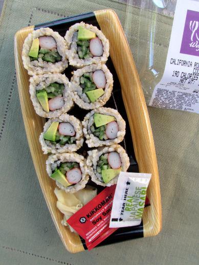Wegmans Sushi California Rolls