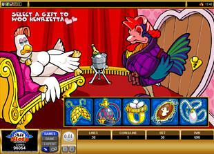 Cashanova Lucky Bonus Game