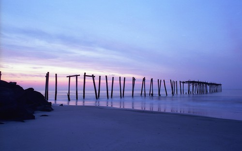 ocean street new city film sunrise 35mm pier minolta kodak nj jersey 100 oceancity 59th x700 ektar ocnj