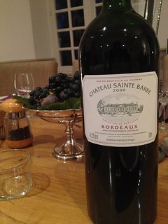 2000 Chateau Sainte Barbe