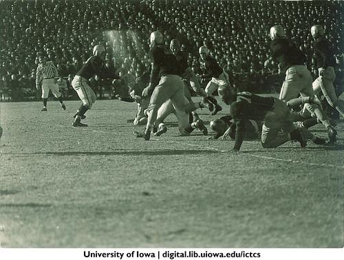 Iowa-Notre Dame football game, The University of Iowa, November 11, 1939