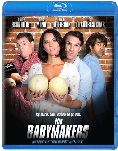 The Babymakers 2012 BluRay