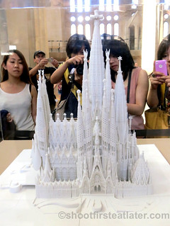 Finished model of Sagrada Familia-001