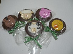 Blog de chocolatesecia : CHOCOLATES PERSONALIZADOS, Pirulito de Chocolate personalizados