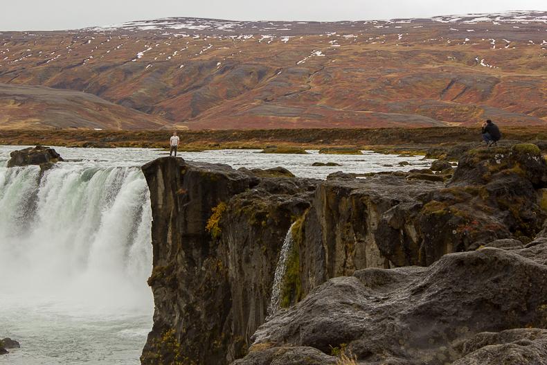 Goðafoss. Iceland.