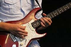 slide guitar(0.0), acoustic guitar(0.0), bassist(1.0), string instrument(1.0), musician(1.0), guitarist(1.0), guitar(1.0), electric guitar(1.0), jazz guitarist(1.0), bass guitar(1.0), string instrument(1.0),