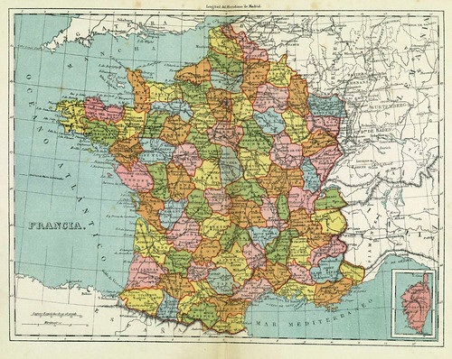 014-Francia-Atlas Geográfico Universal –Paluzie 1883