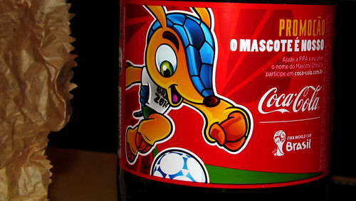 2012 Fifa World Cup 2014 Name That Mascot 2 literl pet Coca-Cola Brazil by roitberg