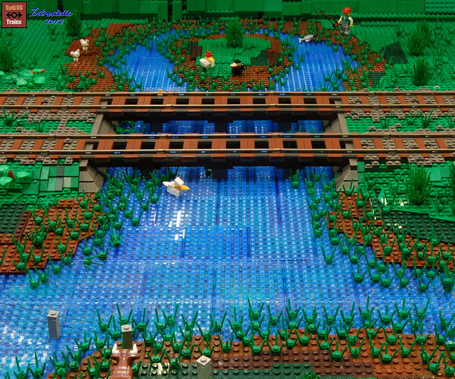 LEGO Train Layouts & Landscapes - a gallery on Flickr