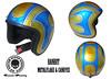 casco bandit metaflake aerografie grosseto custom painting harley davidson air kustom design 0564 garage