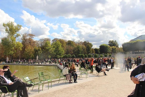 Paris Fashion Week Tuileries
