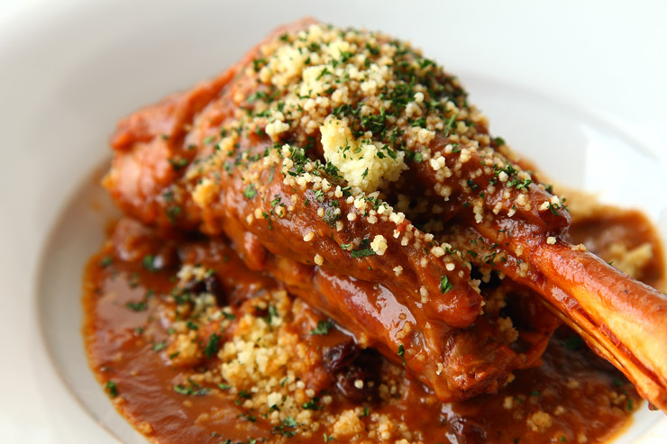 Slow Braised Lamb Shank