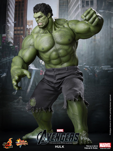 Hot Toys - The Avengers - Hulk Limited Edition Collectible Figurine_PR4