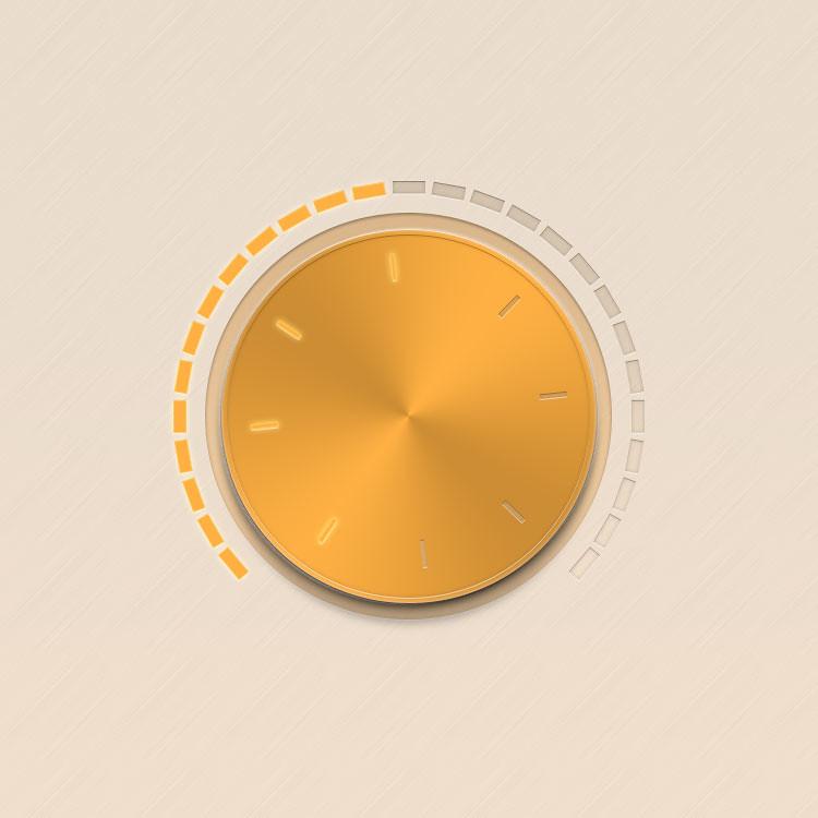 Radio Turn Button