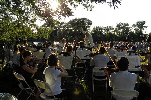 Chesapeake Orchestra summer concert at Woodlawn Farm, Ridge