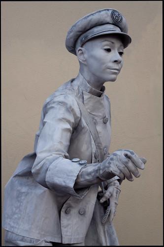 levend standbeeld (7) by hans van egdom