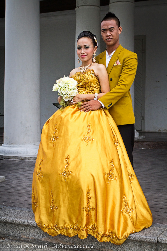 Malay Wedding Couple, Kuching