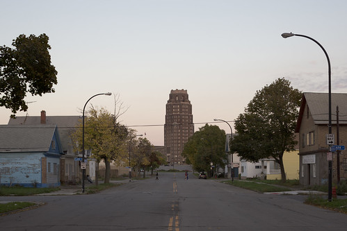 Towards the Buffalo Central Terminal