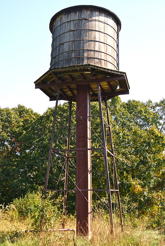 Restored water tower