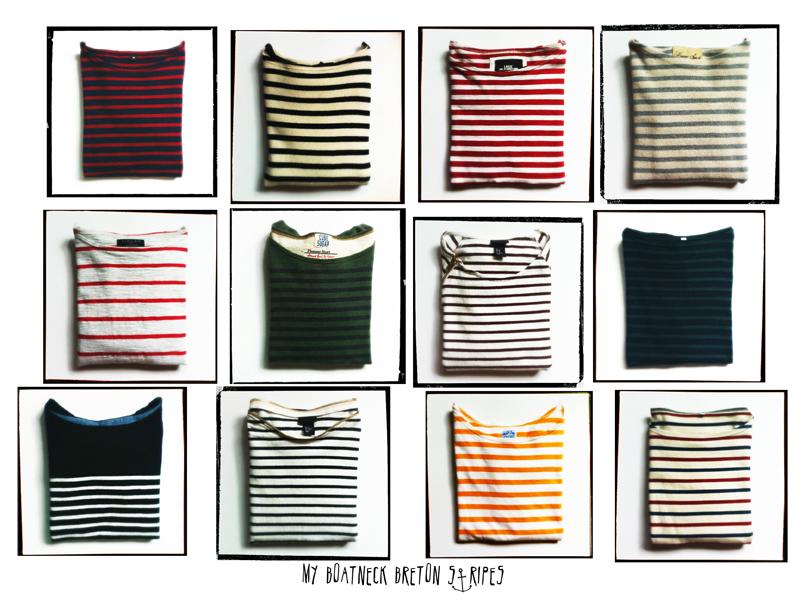 12 breton stripes