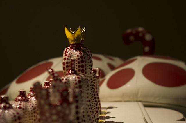Yayoi Kusama Pumpkin Chess'