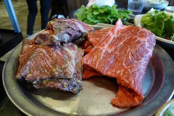 Bonsuwon Galbi 본수원 meat