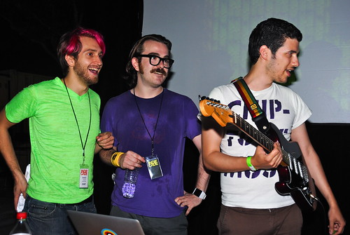 Robin Arnott, Phil Fish & Disasterpeace - IndieCade Night Games