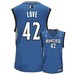 NBA Minnesota Timberwolves Kevin Love Road Swingman Jersey Blue
