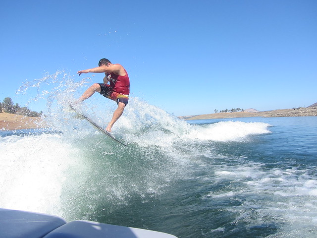 Early October Wakesurfing 267
