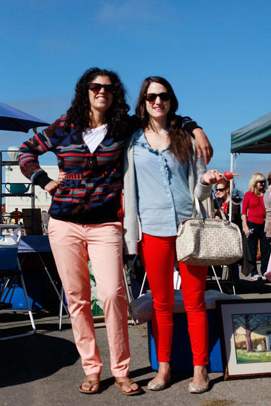 krystal_libby street style, street fashion, women, Alameda Flea Market