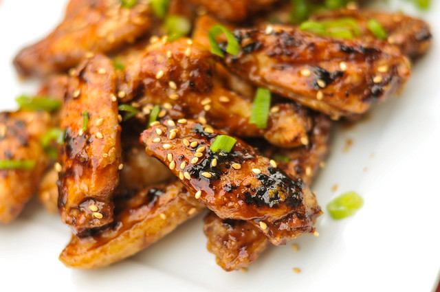 Hoisin Glazed Wings