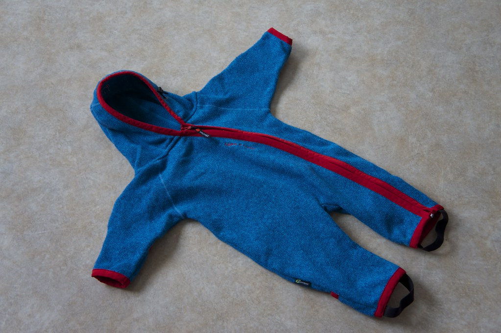 Isbjörn of Sweden Rib Fleece Jumpsuit