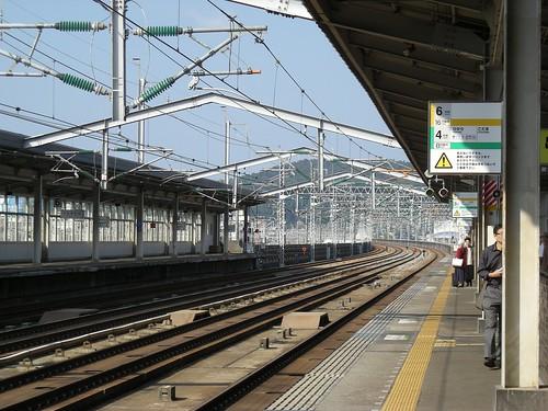 三原駅ホーム