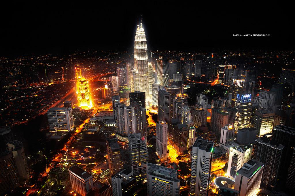 Vista Aerea Kuala Lumpur / Aerial View of Kuala Lumpur