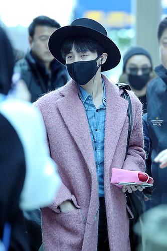 Big Bang - Incheon Airport - 21mar2015 - G-Dragon - avril_gdtop - 09