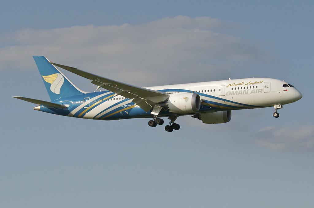 A4O-SZ - B788 - Homer Air