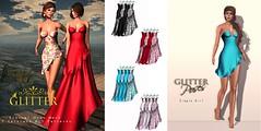 Eternal Mesh Gown & Simple Girl Set Poses