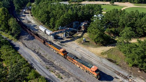BNSF Train U-MCIBIR0-16T