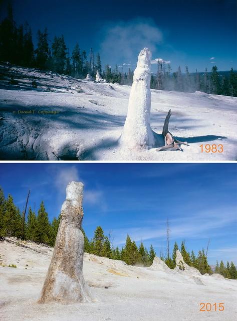 Thermos Bottle Geyser 32 years apart